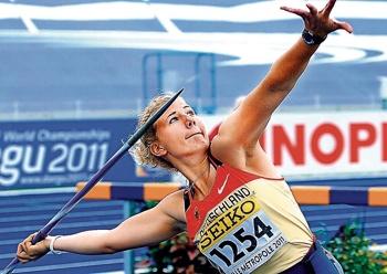 Erklärtes Ziel der LAZ-Speerwerferin Christin Hussong ist die U 20-EM