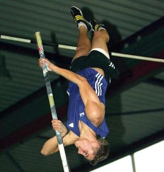 Lukas Hallanzy – bei der Deutschen Meisterschaft soll es hoch hinaus gehen
