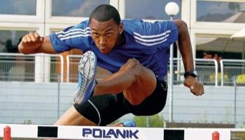Marlon Odom braucht einen optimalen Lauf bei der Deutschen Meisterschaft über die zehn Hürden