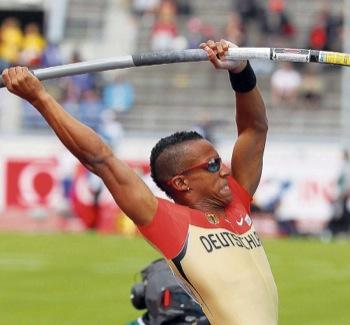 Raphael Holzdeppe hat bei der Europameisterschaft 2012 in Helsinki richtig zugepackt