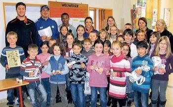 Sieger des Talent-Cups 2011: Albert-Schweitzer-Schule